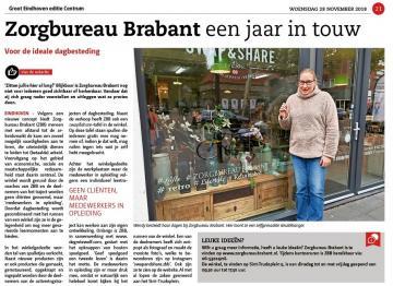 Onze dagbesteding in Groot Eindhoven